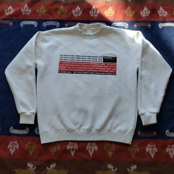 Nagano 2005 Winter Special Olympics Sweatshirt XL